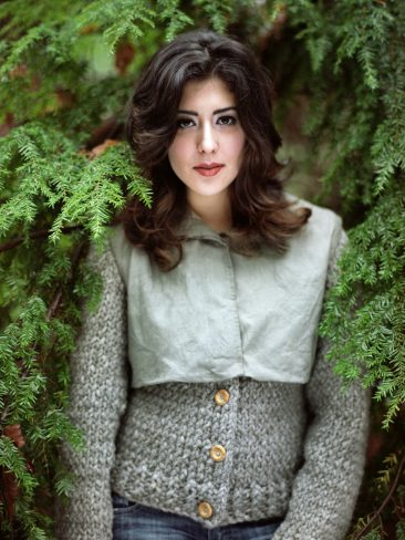 Canvas and wool jacket - Verena Erin. Photo: Ryan Kelly