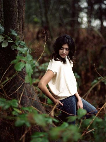 Organic cotton top, slow fashion collection - Verena Erin. Photo: Ryan Kelly