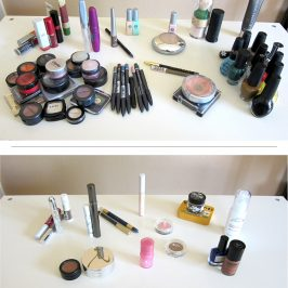 Makeup Collection Makeover