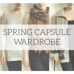 Spring Project 333 Capsule Wardrobe