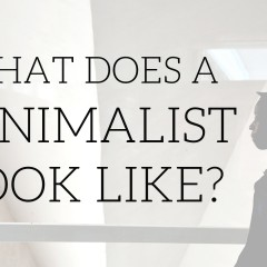 What does a Minimalist look like?
